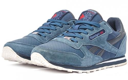 Голубые кроссовки Reebok
